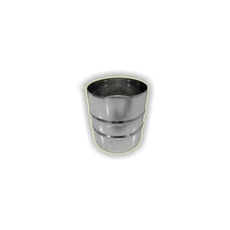 Tronchetto M/M monoparete acciaio inox 316 sp 5/10