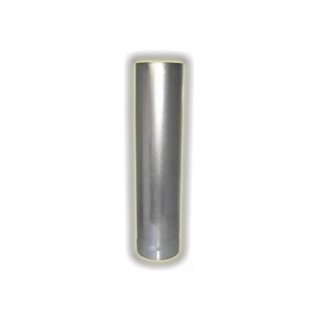 Canna Fumaria Elemento 1000 mm - Acciaio Alluminato