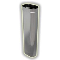 Canna Fumaria Elemento Ovale 1000 mm - Inox 304