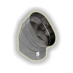 Canna Fumaria Curva Tipo 2 Ovale - Inox 304