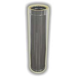 Canna Fumaria Elemento Coibentato 1000 mm - Inox