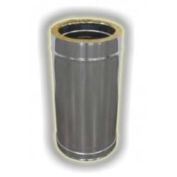 Elemento Lineare Coibentato Inox - mm 500