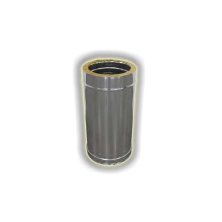 Canna Fumaria Elemento Coibentato 500 mm - Inox