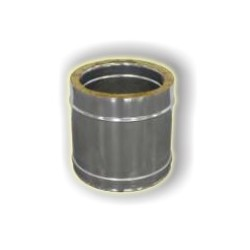 Canna Fumaria Elemento Coibentato 250 mm - Inox