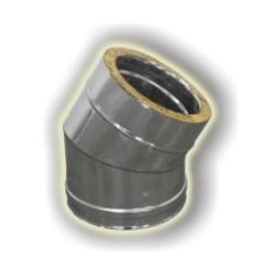 Curva 45° Coibentanta - Inox