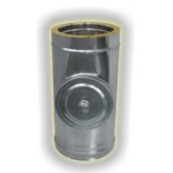 Modulo di Ispezione con Tappo per Alte Temperature Coibentato - Inox