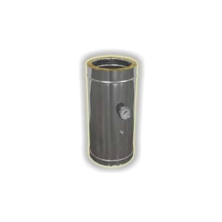 Modulo Prelievo Fumi e Temperatura Coibentato - Inox