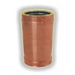 Canna Fumaria Elemento Coibentato 500 mm - Rame