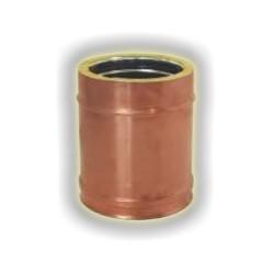 Canna Fumaria Elemento Coibentato 250 mm - Rame