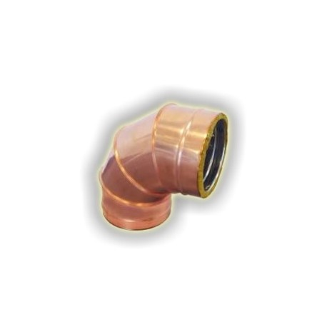 Curva 90° Coibentata - Rame