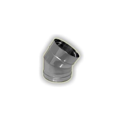 CURVA 30° M/F monoparete acciao inox 304 sp 6-10