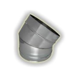 CURVA 45° M/F monoparete acciao inox 304 sp 6-10