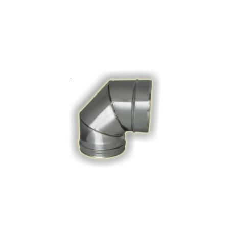CURVA 90° M/F monoparete acciao inox 304 sp 6-10