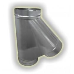 T135° derivazione maschio monoparete acciao inox 304 sp 6-10