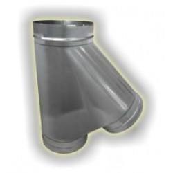 T135° derivazione femmina monoparete acciao inox 304 sp 6-10