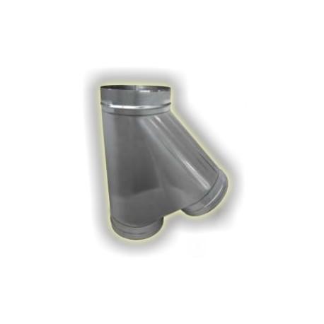 Canna Fumaria T135° Derivazione Femmina - Inox 304