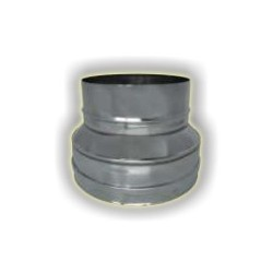 Riduzione monoparete acciao inox 304 sp 6-10
