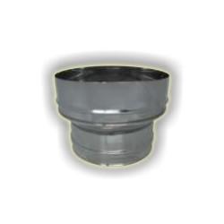 Maggiorazione monoparete acciao inox 304 sp 6-10