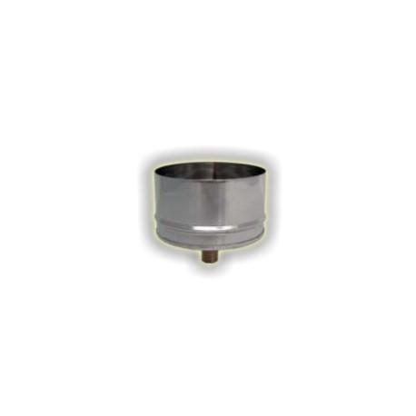 Raccogli condensa maschio monoparete acciao inox 304 sp 6-10