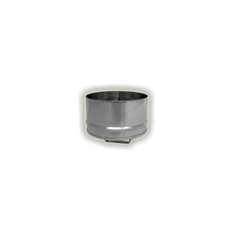 Tappo con maniglia maschio monoparete acciao inox 304 sp 5-10