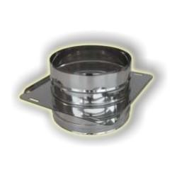 Attraversamento solaio monoparete acciao inox 304 sp 5-10