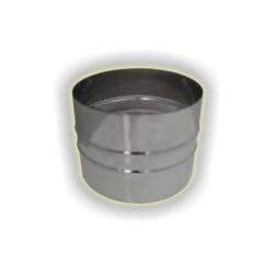 Tronchetto M/M monoparete acciao inox 304 sp 5-10