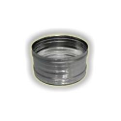 Tronchetto F/F monoparete acciao inox 304 sp 5-10