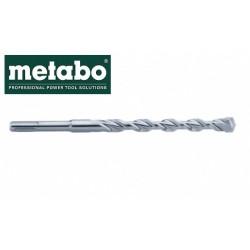 """METABO Punta SDS Plus Ø 25mm """"Pro 4"""" a 2 Taglienti - Foratura Calcestruzzo e Pietra"""