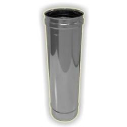Elemento lineare M/F h500 monoparete acciaio inox 316 sp 5/10