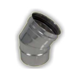 Curva 30° M/F  monoparete acciaio inox 316 sp 5/10