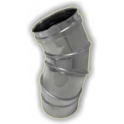 Curva regolabile monoparete acciaio inox 316 sp 5/10