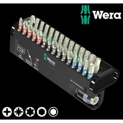 WERA Kit Inserti Anti-Ruggine Impropria Bit-Check 30 Stainless 1, 30 Pezzi