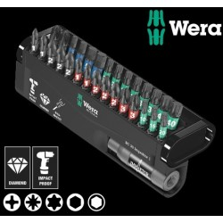 WERA Kit Inserti Bit-Check 30 Impaktor 1, 30 Pezzi