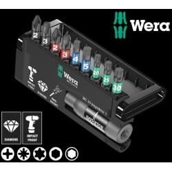 WERA Kit Inserti Bit-Check 10 Impaktor 1, 10 Pezzi
