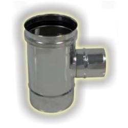 T90° attacco ridotto maschio monoparete acciaio inox 316 sp 5/10