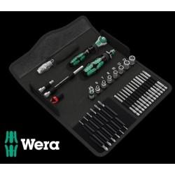 WERA Kit Kraftform Kompakt M 1 Metallo, 39 Pezzi