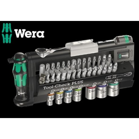 WERA Kit Tool-Check PLUS Imperial, 39 Pezzi