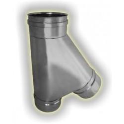T135° derivazione maschio monoparete acciaio inox 316 sp 5/10