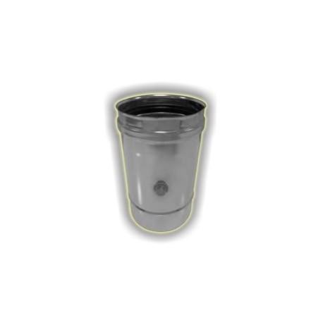 Prelievo fumi monoparete acciaio inox 316 sp 5/10