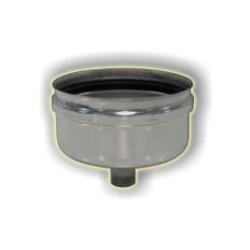 Raccogli condensa monoparete acciaio inox 316 sp 5/10