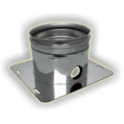 Raccogli condensa scarico laterale monoparete acciaio inox 316 sp 5/10