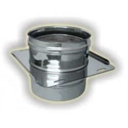 Attraversamento solaio monoparete acciaio inox 316 sp 5/10